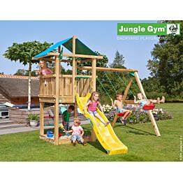 Leikkikeskus Jungle Gym Hut sis. keinumoduuli ja liukumäki