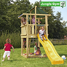 Leikkikeskus Jungle Gym Hut sis. liukumäki