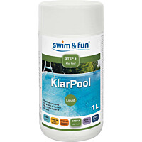 Levänestoaine Swim & Fun KlarPool 1 l