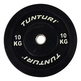 Levypaino Tunturi 10 kg musta