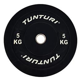 Levypaino Tunturi 5 kg musta