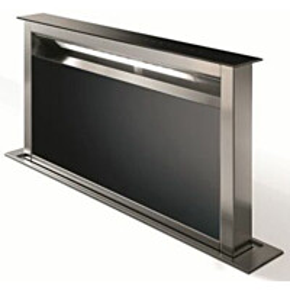 Liesituuletin Savo T-9309-B3 pöytämalli 90 cm musta/lasi