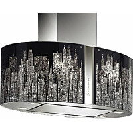 Liesituuletin Falmec Mirabilia Manhattan 85 saarekemalli RST/lasi