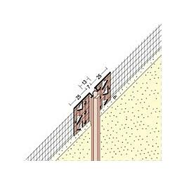Liikuntasaumalista Fescon verkolla 2,5 m