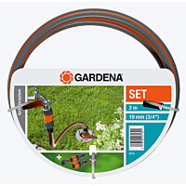 Liitäntäsarja GARDENA Profi Maxflow 19 mm 2m