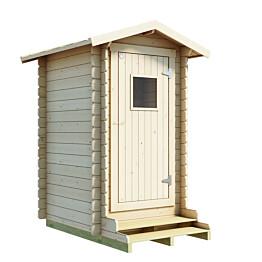 ProPuucee-paketti 1,7 m² sis. Lillevilla Toilet 13 ja Kekkilä Tehokäymälä käymälä 230 l