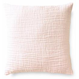 Pellavakoristetyynynpäällinen Finlayson Lino 48x48 cm roosa