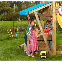 Lisämoduuli leikkitorniin Jungle Gym Minimarket sis. puutavaran