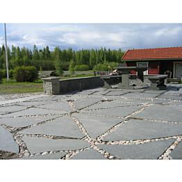 Liuskekivi Majakivi Alta 3-4 cm isommat pihakokonaisuudet (15 m²)