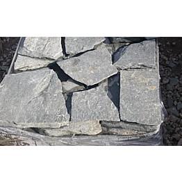 Liuskekivisetti Kavalan Harmaa 3-5cm Majakivi 10m² sis. pihasetti