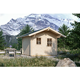Lomamaja Skan Holz Arosa vahvuus 45 mm 300x250 cm (7,5 m²)