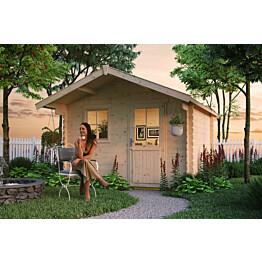 Lomamaja Skan Holz Como vahvuus 28 mm 300x250 cm (7,5 m²)