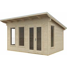 Lomamaja Ostende 3 12 m² 3000x4000 mm seinävahvuus 28 mm