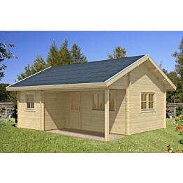 Lomamökki Skan Holz Ontario 1 vahvuus 70 mm 600x500 cm (30 m²)