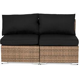 Lounge-sohva Cambridge, 2-istuttava, ilman käsinojia, hiekka