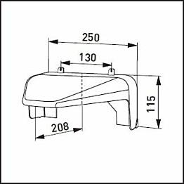 Lumisuoja Ensto - AVR71 valkoinen