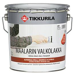 Maalarin Valkolakka Tikkurila 2,7 l kiiltävä AM valkoinen