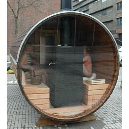 Maisemapesäsauna Fimex Sunny Ø 200 x 400 cm lämpöpuu