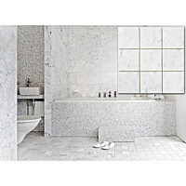 Marmorilaatta Bianco Carrara C 300x300 mm