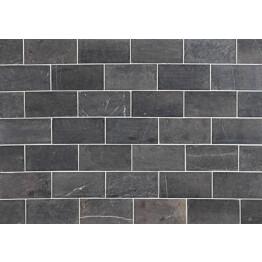Marmorilaatta Qualitystone Grey Marble Tile 100x200 mm