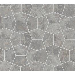 Marmorilaatta Qualitystone Pentagon Light Grey 150x100 mm