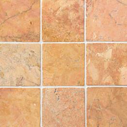 Marmorilaatta Qualitystone Square Terra 100 x 100 mm