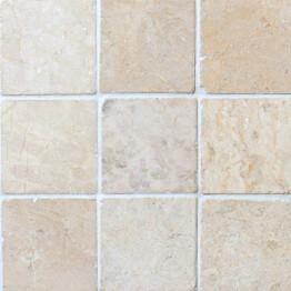 Marmorilaatta Qualitystone Square White 100 x 100 mm