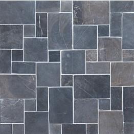 Marmorimosaiikki Qualitystone French Pattern Gray verkolla