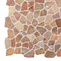 Marmorimosaiikki Qualitystone Mosaic Terra Interlock verkolla vapaa mitta