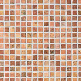 Marmorimosaiikki Qualitystone Square Terra verkolla 20 x 20 mm