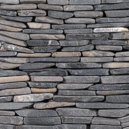 Marmorimosaiikki Qualitystone Standing Gray Interlock verkolla vapaa mitta