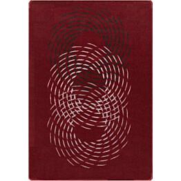 Matto Hestia Pyörre 133x195cm punainen
