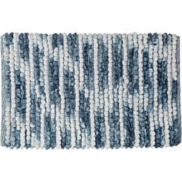 Kylpyhuonematto Sealskin Vintage 50x80 cm sininen