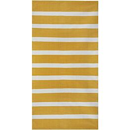 Matto Hestia Pinja 60x90 cm keltainen/valkoinen