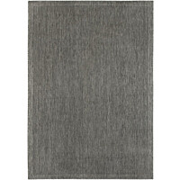 Matto Hestia Raita 133x190 cm harmaa/musta
