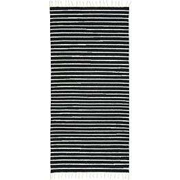Matto VM Carpet Aitta eri kokoja musta-valkoinen