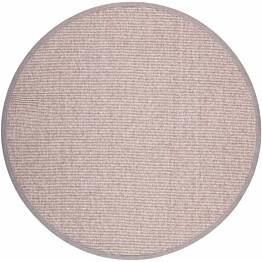 Matto VM Carpet Esmeralda mittatilaus pyöreä beige