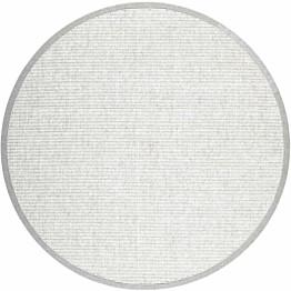 Matto VM Carpet Esmeralda mittatilaus pyöreä valkoinen