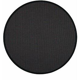 Matto VM Carpet Lyyra mittatilaus pyöreä musta
