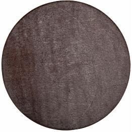 Matto VM Carpet Satine pyöreä eri kokoja ruskea