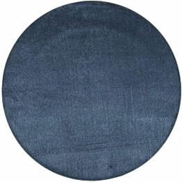 Matto VM Carpet Satine pyöreä eri kokoja sininen