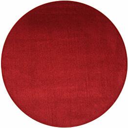 Matto VM Carpet Satine pyöreä eri kokoja viininpunainen