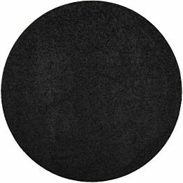 Matto VM Carpet Tessa mittatilaus pyöreä musta
