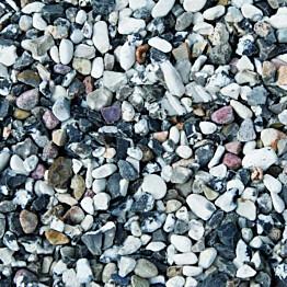 Koristekivi Benders Merikivi 8-16 mm 15 kg säkki mustavalkoinen
