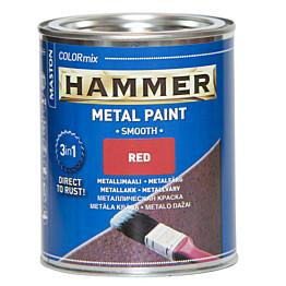 Metallimaali Hammer Sileä 10l eri värivaihtoehtoja