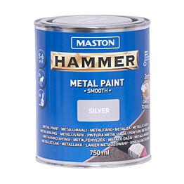 Metallimaali Hammer Sileä 750ml eri värivaihtoehtoja (2kpl)