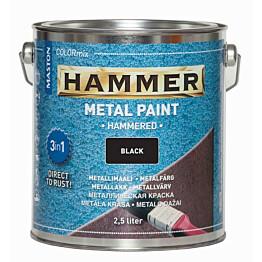 Metallimaali Hammer Vasaralakka 25l eri värivaihtoehtoja