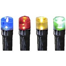 Mikro-LED-värivaloketju Star Trading IP44 900 cm