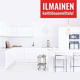 Mittatilauskeittiö Ideal Keittiöt + ilmainen keittiösuunnittelu