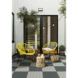 Monitoimilaatta Flooria Bergo XL System 2 Graphite Grey 38x38cm